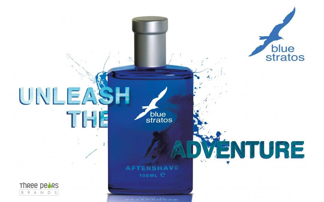 Three pears brands acquire blue stratos, the fragrance and skincare brand from parfums bleu and commit to rejuvenating this iconic 1970's brand